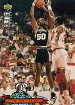 1994-1995 Upper Deck Collectors Choice Card David Robinson #403 SanAntonio Spurs - $3.95