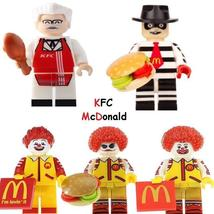 NEW KFC Minifigure McDonald Figure Single Sale Lego Toys - $1.99