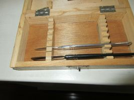 Rx , Pharmacy , Wood Dissecting Kit , Vintage , Incomplete image 7