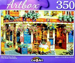 NEW 350 Piece Jigsaw Puzzle Artbox 18 in. x 11 in., Jolly Friar, Victor ... - $4.75
