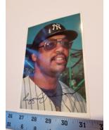 Reggie Jackson Ball Card 5x7 New York Yankees Outfield 1981 Topp MLB Bas... - $9.49