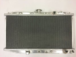 RADIATOR ALL ALUMINUM TWO ROW WITH CAP, CU886 FITS 88 89 90 91 HONDA CIVIC CRX image 2