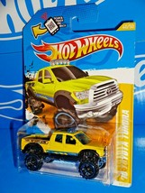 Hot Wheels 2012 New Models #40 '10 Toyota Tundra Yellow w/ OR6SPs - $7.00