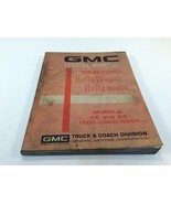 1972 GMC Vandura Models GE and GS 1500 2500 3500 Service Manual Rally Wa... - $24.99