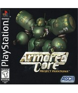 Armored Core Project Phantasma PS1 Great Condition Fast Shipping - $39.93