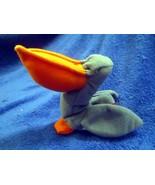 McDonald's Ty Teenie Beanie Scoop The Pelican NO TAG & NO BAG - $3.55