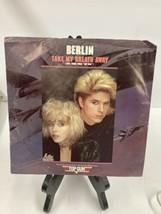 Berlin Take Your Breath Away Vinyl 45 Record With Original Top Gun Sleeve. - $14.03