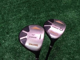Spalding Oversize Driver and 5 Wood Set Medium Firm Graphite, Right handed - $34.99