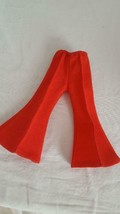 """RED BELL BOTTOM FASHION DOLL PANTS FOR 18""""DOLL,6.5""""WAIST,5.5""""INSEAM,POLY... - $4.94"""