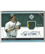 2005 Upper Deck Ultimate Material - Eric Chavez - #UV-EC - Game-Worn Patch - $29.69
