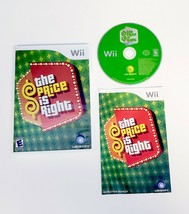 The Price is Right (Nintendo Wii, 2008) TV Game Show - Complete with Man... - $9.45