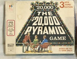 Vintage 1974  The $10000 Pyramid 3rd Edition Board Game by Milton Bradley - $17.77