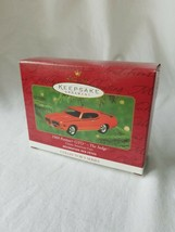 Hallmark Keepsake Ornament - 1969 Pontiac GTO The Judge - $21.78