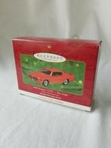 Hallmark Keepsake Ornament - 1969 Pontiac GTO The Judge - $21.78