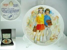 Emilie & Phillipe Children of Durand Collector Plate - $12.19