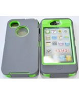 JEXON (TM) Iphone 4 4S Body Armor Defender - Comparable to Otterbox Defe... - $17.17