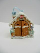 2001 Precious Moments House Doors Girl Tree Ornament 863246 - $10.78
