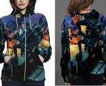Nightwing night rain zipper hoodie women s  thumb155 crop