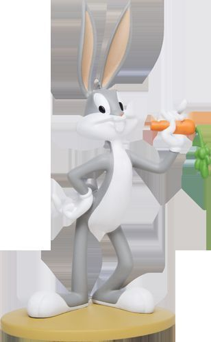 "Primary image for Extremely Rare! Looney Tunes Bugs Bunny ""What's Up Dog"" Figurine Statue"