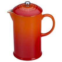 Le Creuset French Press - Flame - £88.48 GBP