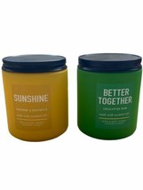 Bath & Body Works Sunshine And Better Together Single Wick Candle Lot of 2 - $24.95