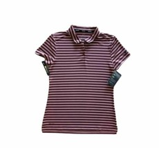 Nike Polo Golf Shirt Striped 884867-652 Women's Size Extra Small XS - $29.97