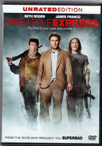"DVD ""PINEAPPLE EXPRESS""Set Rogen,James; R,English; french - $5.86"