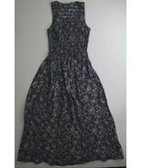 Maison Jules Women's Smocked Midi Dress Blu Notte XX-Small - $88.61