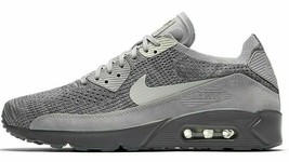 low priced 70312 f30d3 Nike Air Max 90 Ultra 2.0 Flyknit  quot Atmosphere Grey quot  Size 10.5 New  (