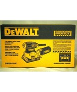 Dewalt 1/4 Sheet Palm Grip Sander New In Box - $37.79
