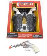 Big Game Toys~Double Holster Stagecoach Set Cowboy Pistol Side Load Toy ... - $42.13