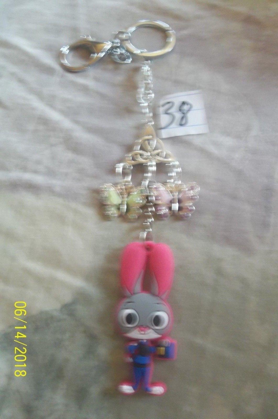 # purse jewlrey silver color Hopps  keychain backpack filigree dangle charm #38 image 2