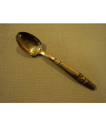 Handcrafted Vintage Coffee Spoon 4 1/2-in Thailand Buddha Flatware 1960'... - $7.07
