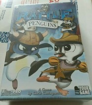 Battle Penguins Card game by Ultra-Pro New Sealed 2-6 Players 8+ Family ... - $7.92