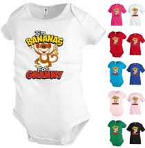 I'm Bananas for Granny Funny Kids T shirt Youth tee Baby Toddler bodysui... - $12.99