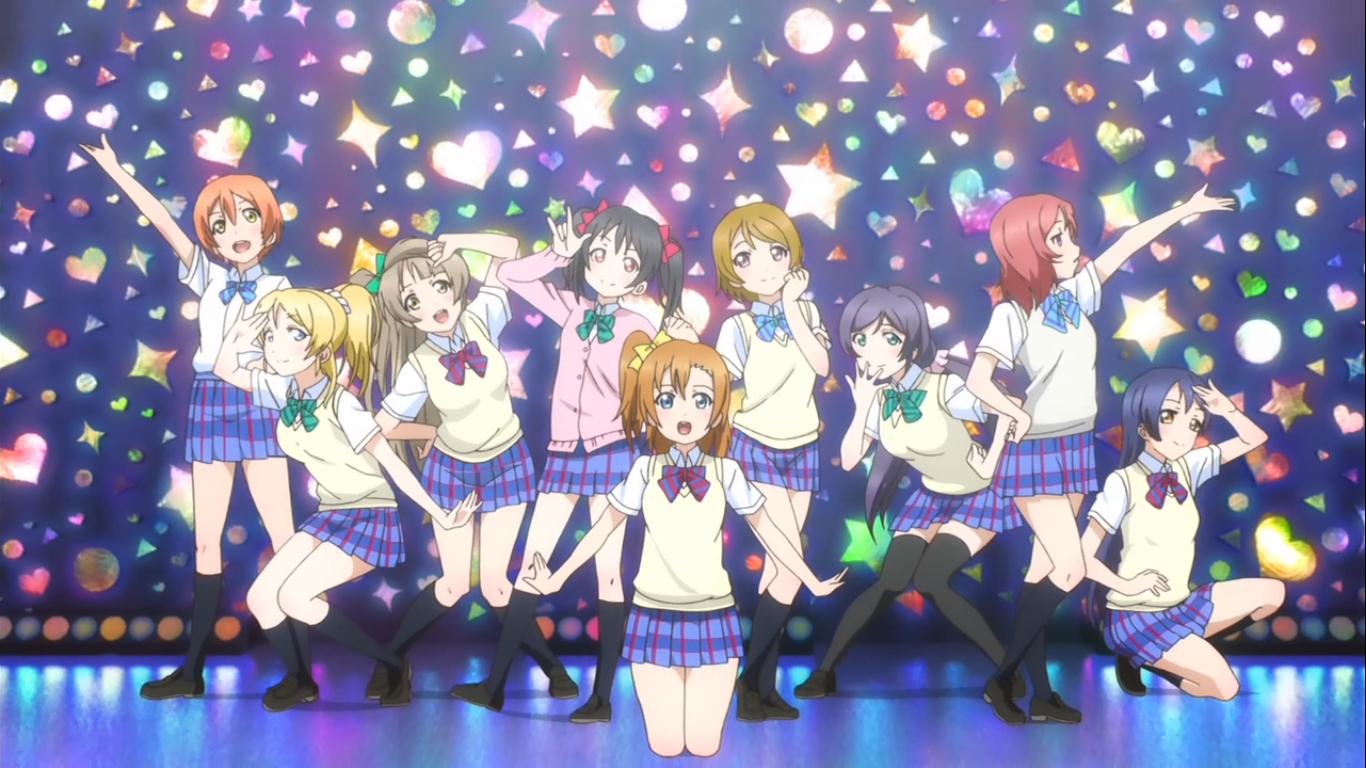 Love Live! (season 1+2) Vol.1-52 end + Movie + Sunshine! DVD (English Subtitle)