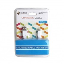 Wii U Hydra White Charge Cable - $6.72