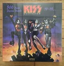 NEW sealed KISS Destroyer 19x19 500 pc Jigsaw Puzzle KS39050 Kiss Army Depot - $28.05