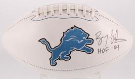 Barry Sanders Signed Full Size Lions Football w/ HOF 04 Inscription Schw... - $373.99