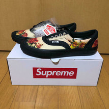 Supreme Jean Paul Gaultier Vans Floral Print Era Pro White Shoes US9 - $315.00