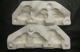 Duncan Molds 3 Baby Chicks M-887 Ceramic or Porcelain Slip Casting Mold - $44.88
