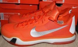 Nike Kobe X TB Basketball Shoes Orange White Men's Size 15.5 New Never Worn - £66.48 GBP