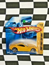 Hot Wheels 2007 New Models First Edition 014 Ferrari 599 GTB Yellow Shor... - $14.84