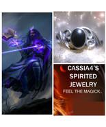 Haunted RING DARKEST NIGHT VAMPIRE WIZARD SPIRIT VESSEL MAGICK WITCH CAS... - $87.77