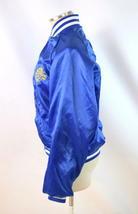 Vintage 80s Blue Satin Jacket TBS Super Station Windbreaker Retro Mens Size S image 3