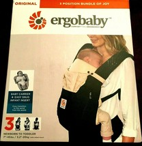Ergobaby 3 Position Original Bundle of Joy Baby Carrier Black Camel + in... - $69.29