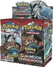 Pokemon TCG Sun & Moon Team Up + Crimson Invasion Booster Box Bundle image 3