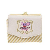 Disney Store Japan Dumbo Wallet Triple Fold Wallet Wallet Circus Pouch - $92.07