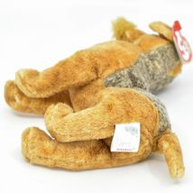 2000 Ty Beanie Baby Whiskers the Schnauzer Terrier Puppy Dog Beanbag Plush Toy image 5