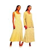 Misses Dress Jacket McCalls 2463 Sewing Pattern Vintage 1999 Size 8-14 c... - $5.99